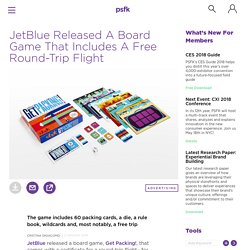 JetBlue Released A Board Game That Includes A Free Round-Trip Flight