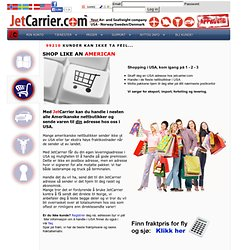 JetCarrier, US mail and freight forwarding to Norway, Sweden &am