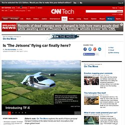Is 'The Jetsons' flying car finally here?