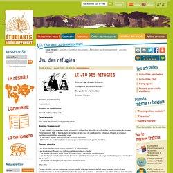 Jeu des réfugiés