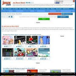 Jeu Music Match gratuit sur Jeux.com !