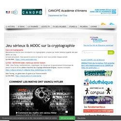 Jeu sérieux & MOOC sur la cryptographie