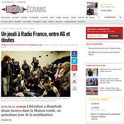 Un jeudi à Radio France, entre AG et doutes
