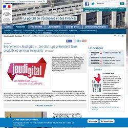 Evénement « Jeudigital » : les start-ups présentent leurs produits et services innovants