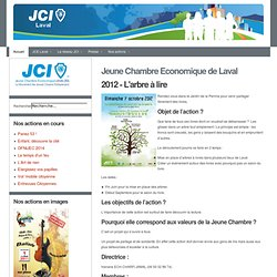 Jeune Chambre Economique de Laval - 2012 - L'arbre à lire