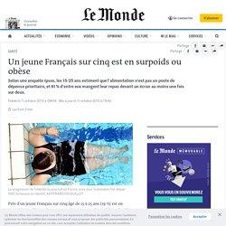 Un jeune Français sur cinq est en surpoids ou obèse