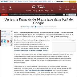 Un jeune Français de 14ans tape dans l'œil de Google