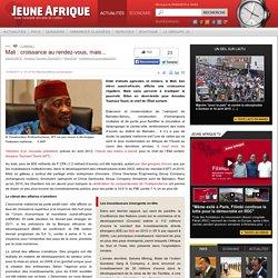 Mali : croissance au rendez-vous, mais...