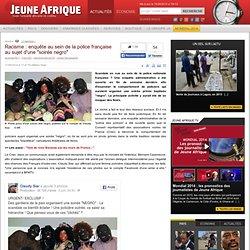 """Racisme : enquête au sein de la police française au sujet d'une """"soirée negro"""""""