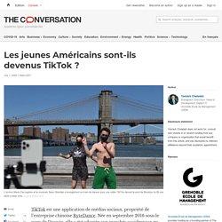 Les jeunes Américains sont-ils devenus TikTok?