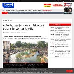 A Paris, des jeunes architectes pour réinventer la ville