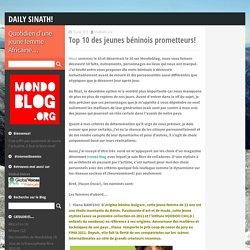 Top 10 des jeunes béninois prometteurs! - Daily Sinath!