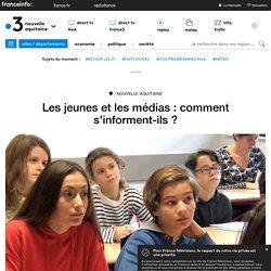 Les jeunes et les médias : comment s'informent-ils ?
