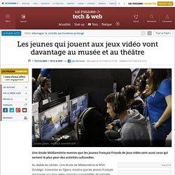 Les jeunes qui jouent aux jeux vidéo vont davantage au musée et au théâtre