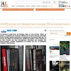 20.000 jeunes ont désigné leurs mangas, BD et romans favoris