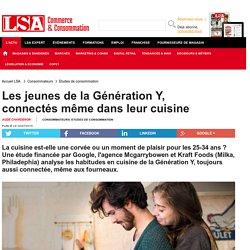 Les jeunes de la Génération Y, connectés...