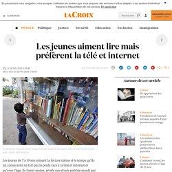 Les jeunes aiment lire mais préfèrent la télé et internet - 2016