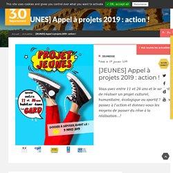 [JEUNES] Appel à projets 2019 : action ! - Département du Gard