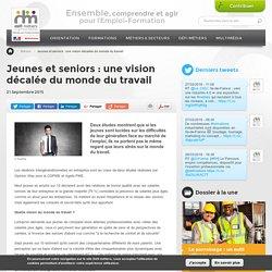 Jeunes et seniors : une vision décalée du monde du travail