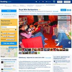 Auberge de jeunesse Royal Mile Backpackers - Édimbourg, UK