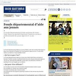 Jeunesse - Fonds départemental d'aide aux jeunes