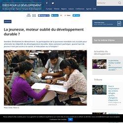 La jeunesse, moteur oublié du développement durable ?