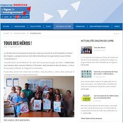 Salon du livre jeunesse - La Ligue de l'Enseignement du Morbihan