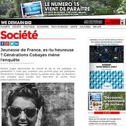 Jeunesse de France, es-tu heureuse ? Générations Cobayes mène l'enquête