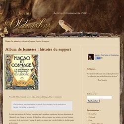 Album de Jeunesse : histoire du support