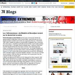 """La """"folle jeunesse"""" de Madelin et Devedjian revient sur le devant de la scène - Droite(s) extrême(s) - Blog LeMonde.fr"""