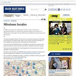 Jeunesse - Missions locales