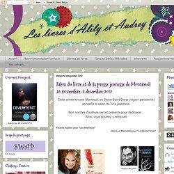 Salon du livre et de la presse jeunesse de Montreuil 28 novembre-3 décembre 2012