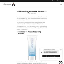 6 Must-Try Jeunesse Products - J-Webstore