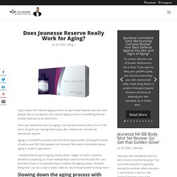 Does Jeunesse Reserve Really Work for Aging? - J Webstore