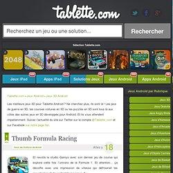 Jeux 3D Android