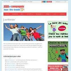 Jeux pour ados : jeux de groupe pour les adolescents