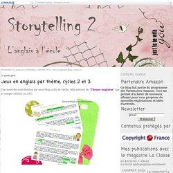 Jeux en anglais par thème, cycles 2 et 3