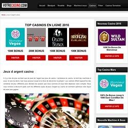 jeux d argent casino