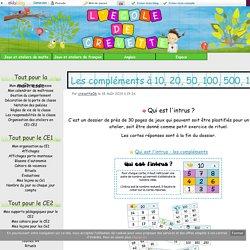 Jeux et ateliers de calcul - (page 2)