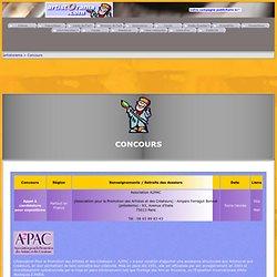 Jeux et concours d'artistOrama