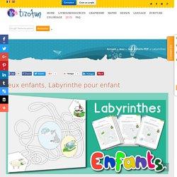Jeux enfants, Labyrinthe pour enfant