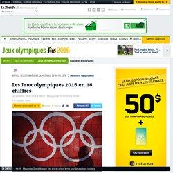 Les Jeux olympiques 2016 en 16 chiffres
