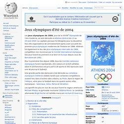 Jeux olympiques d'été de 2004