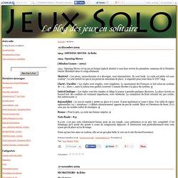 Jeux solo - Page 1 - Jeux solo