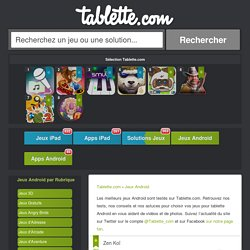 Jeux Tablette Android