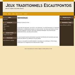 Jeux Traditionnels d'Escautpont