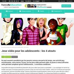 Jeux vidéo pour les adolescents : les 4 atouts