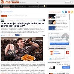 Le PC et les jeux vidéo jugés moins nocifs pour la santé que la TV