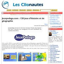 Jeuxpedago.com : 120 jeux d'histoire ...