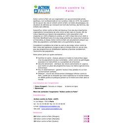 Jeveuxaider.com : Action contre la Faim